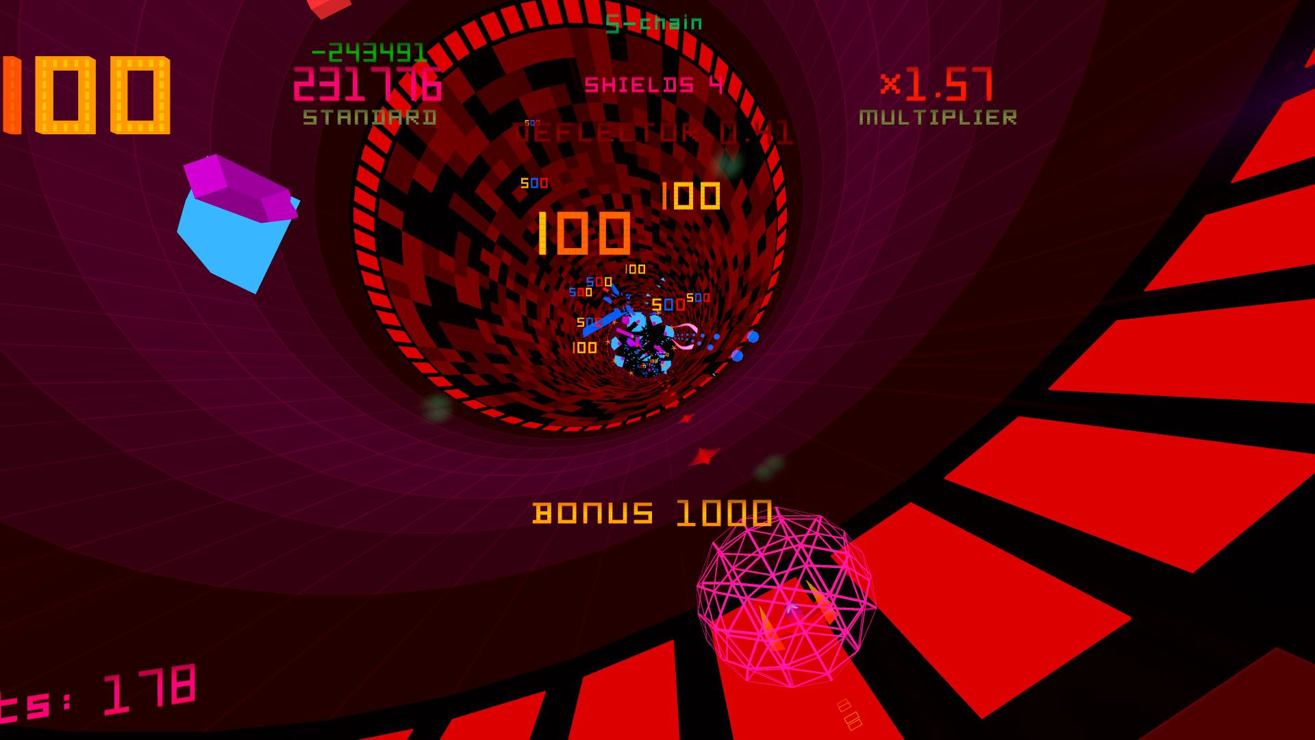 Polybius. It's a psychedelic tunnel.